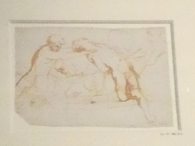 """Peter Paul Rubens: Studie zum """"Martyrium des Heiligen Laurentius"""", um 1613 - 1614"""
