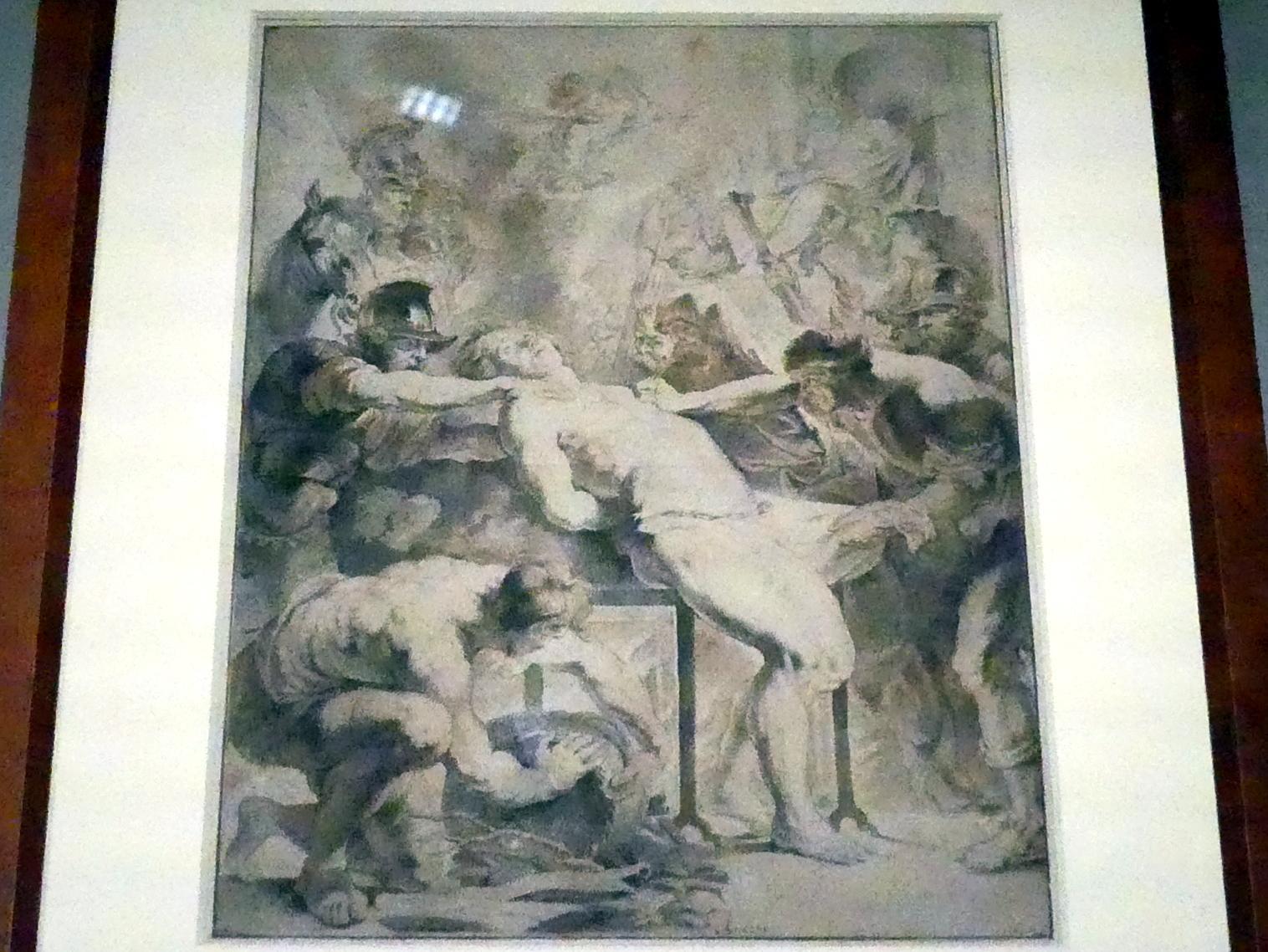 Anthonis (Anton) van Dyck: Das Martyrium des Heiligen Laurentius (nach Peter Paul Rubens), um 1618 - 1619