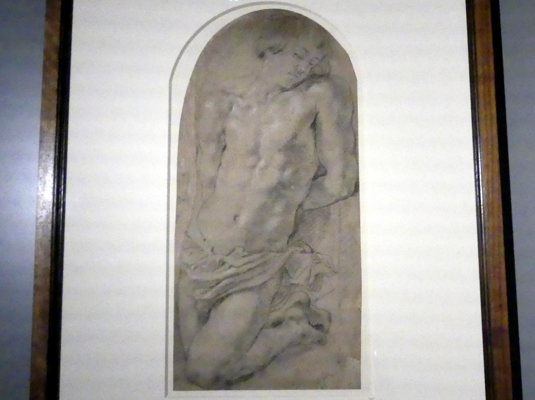"""Peter Paul Rubens: Studie zur """"Opferung des Isaak"""", um 1610 - 1614"""