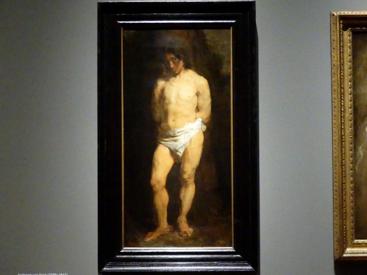 Anthonis (Anton) van Dyck: Studie eines nackten jungen Mannes, um 1615 - 1618