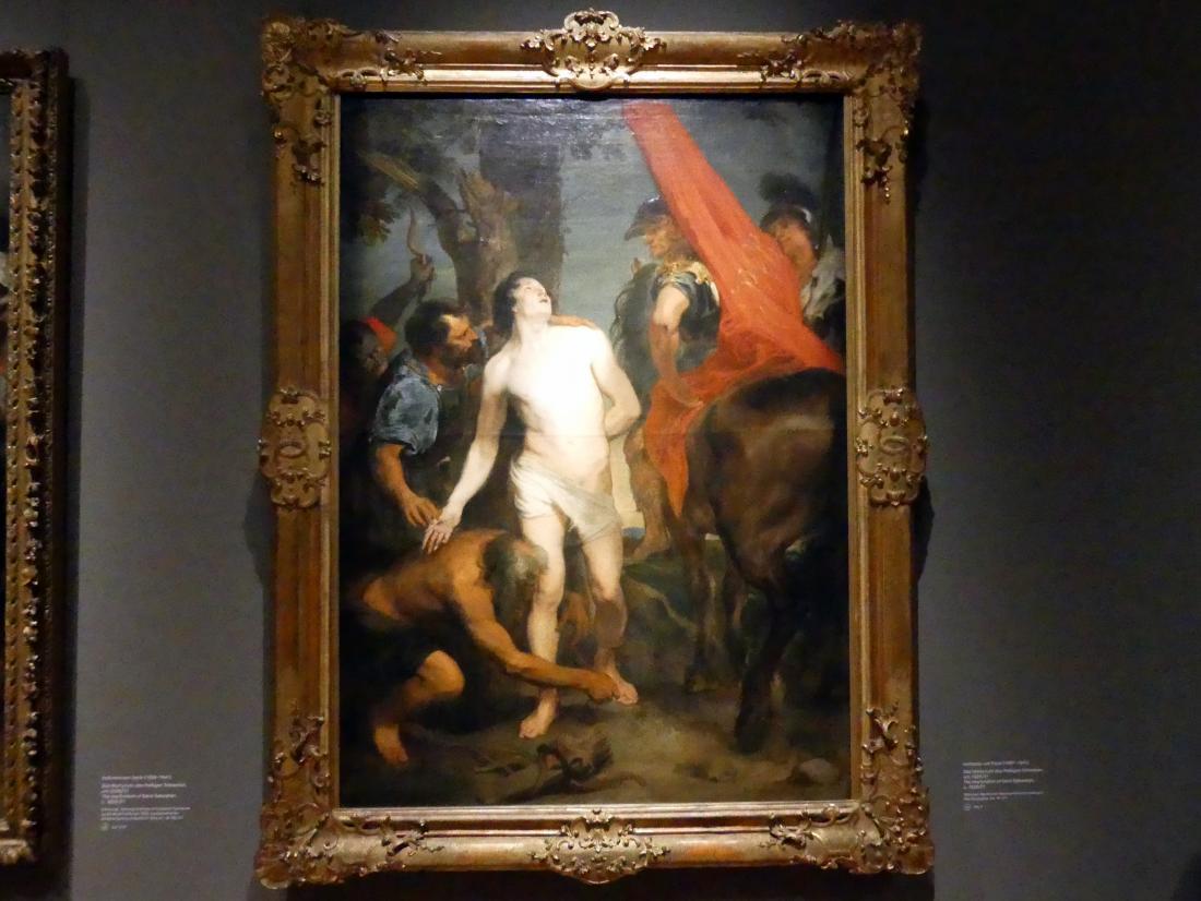 Anthonis (Anton) van Dyck: Das Martyrium des Heiligen Sebastian, Um 1620 - 1621