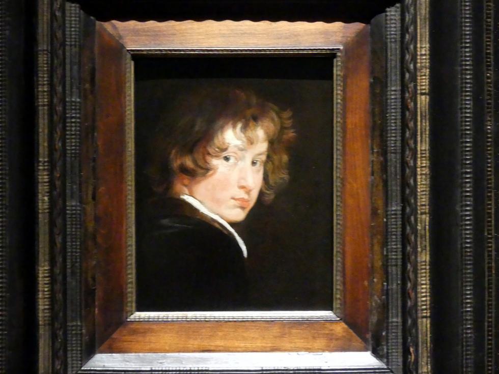 Anthonis (Anton) van Dyck: Selbstbildnis, Um 1615