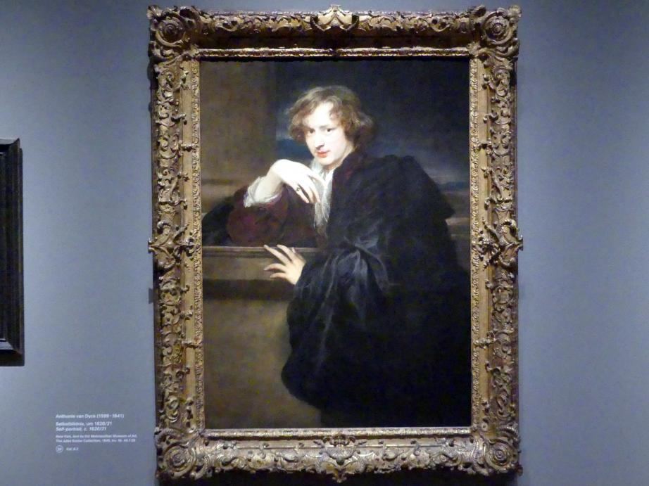 Anthonis (Anton) van Dyck: Selbstbildnis, um 1620 - 1621