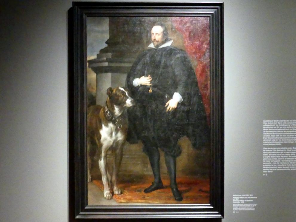 Anthonis (Anton) van Dyck: Wolfgang Wilhelm von Pfalz-Neuburg, Um 1628
