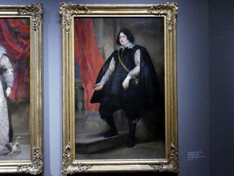 Anthonis (Anton) van Dyck: Filips Godines, Um 1630