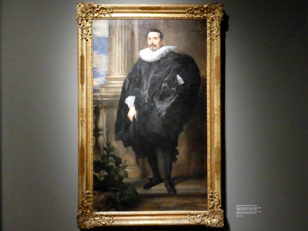 Anthonis (Anton) van Dyck: Bildnis eines Mannes, um 1627 - 1630