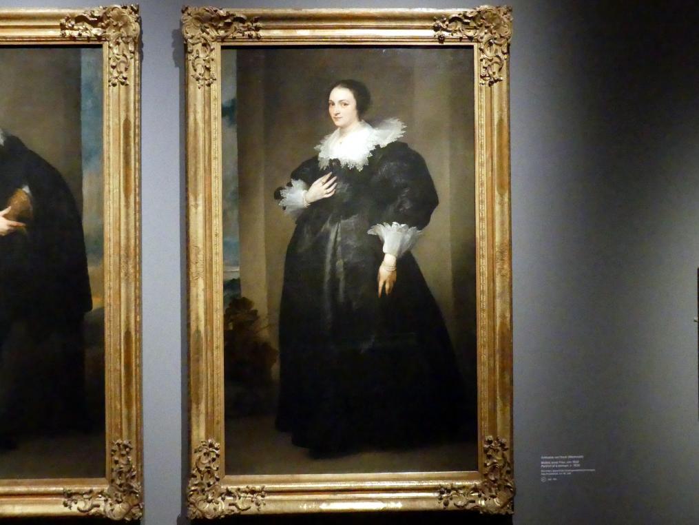 Anthonis (Anton) van Dyck (Werkstatt): Bildnis einer Frau, Um 1630