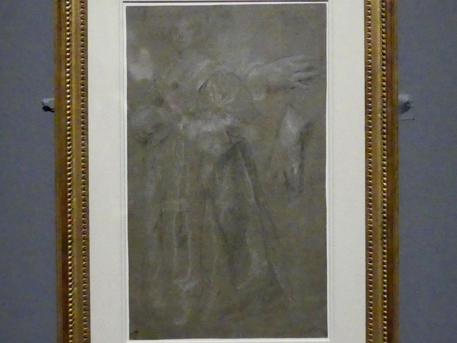 Anthonis (Anton) van Dyck: Porträtstudie einer Frau, mit zwei Studien ihrer Hände, Um 1628 - 1634