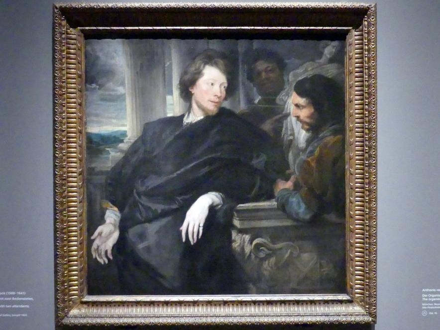 Anthonis (Anton) van Dyck: George Gage mit zwei Bediensteten, Um 1622 - 1623