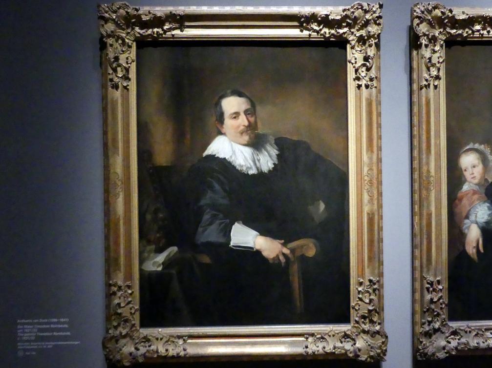 Anthonis (Anton) van Dyck: Der Maler Theodoor Rombouts, Um 1631 - 1632