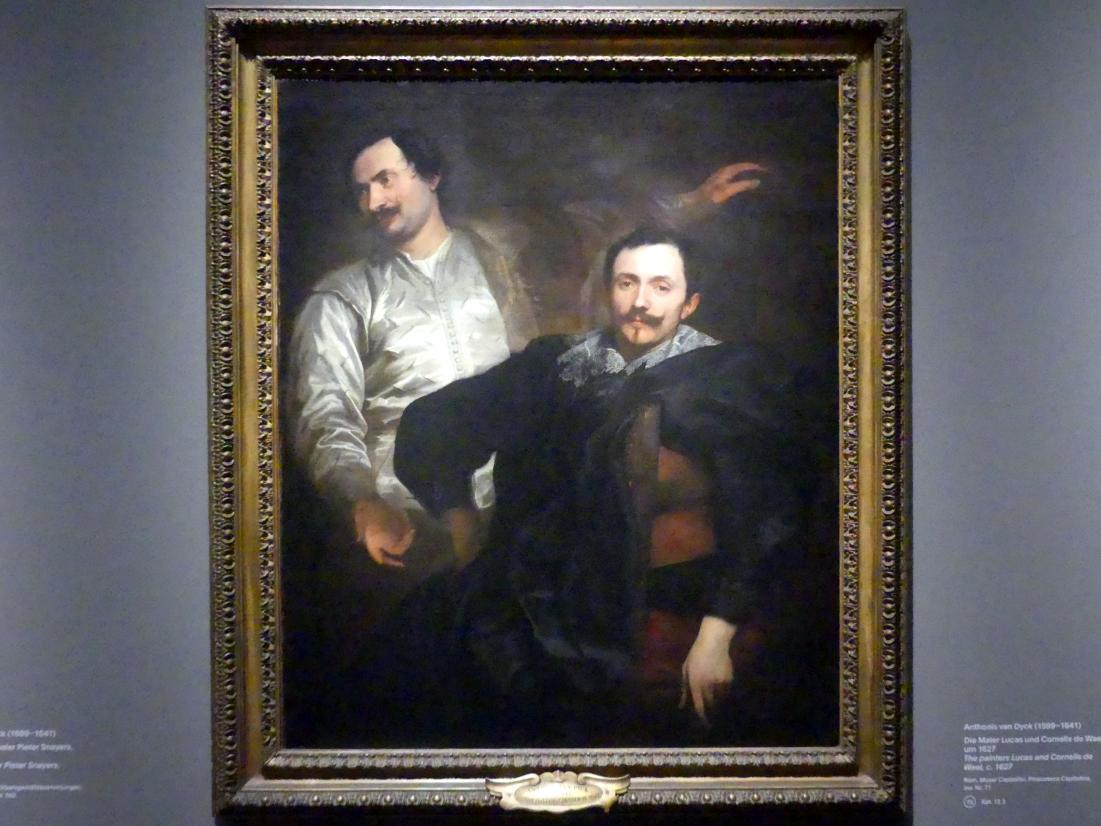 Anthonis (Anton) van Dyck: Die Maler Lucas und Cornelis de Wael, um 1627