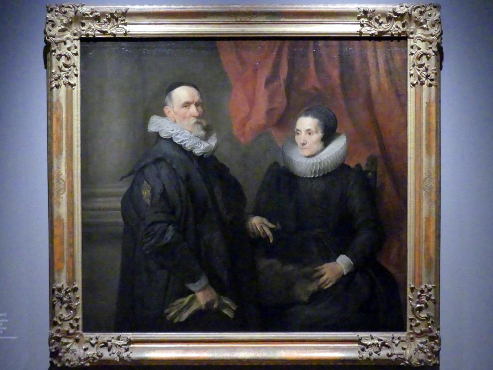 Anthonis (Anton) van Dyck: Der Maler Jan de Wael und seine Frau Geertruid de Jode, 1629