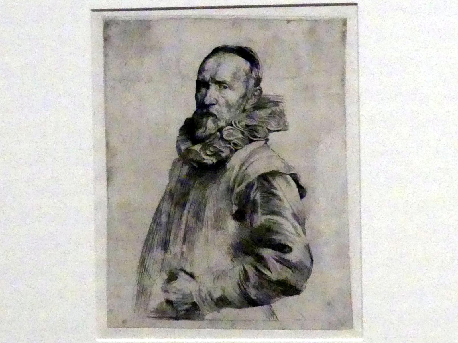 Anthonis (Anton) van Dyck: Jan de Wael, 1. Zustand, Um 1627 - 1629
