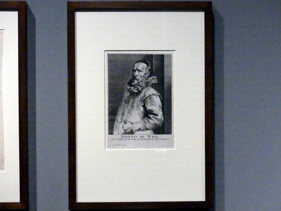 Anthonis (Anton) van Dyck: Jan de Wael, 5. Zustand, Um 1627 - 1629