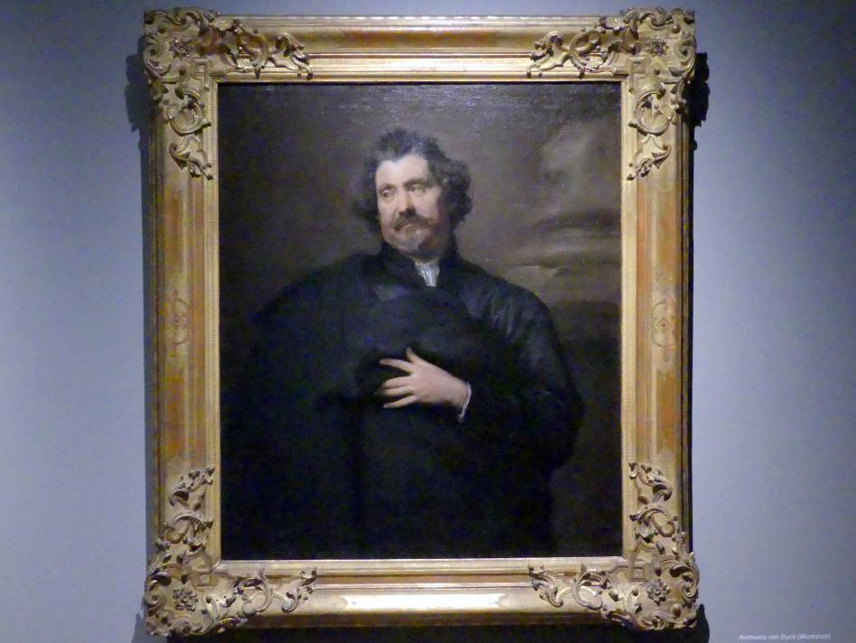 Anthonis (Anton) van Dyck (Werkstatt): Der Kupferstecher Karel van Mallery, um 1630 - 1635