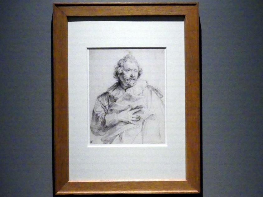 Anthonis (Anton) van Dyck: Der Kupferstecher Karel van Mallery, Um 1630 - 1635