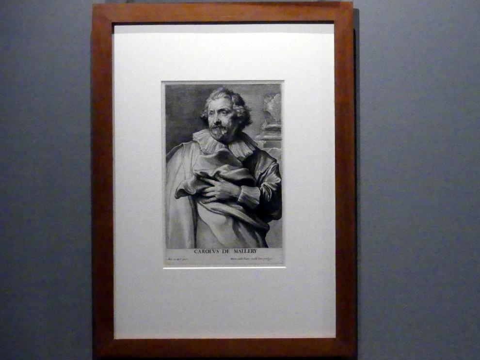 Lucas Vorsterman: Der Kupferstecher Karel van Mallery, 1. Zustand, Undatiert