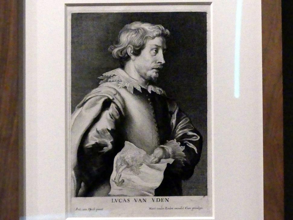 Lucas Vorsterman: Lucas van Uden, 2.Zustand, Undatiert