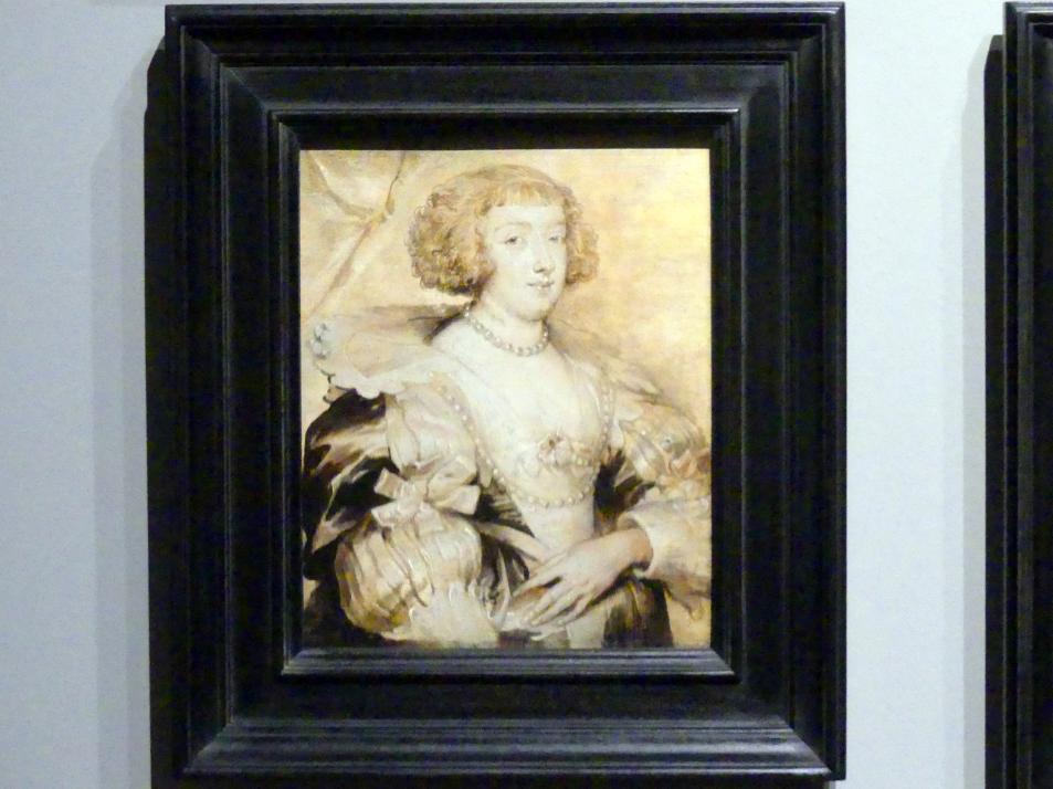 Anthonis (Anton) van Dyck (Werkstatt): Margarete von Lothringen, Um 1629 - 1634