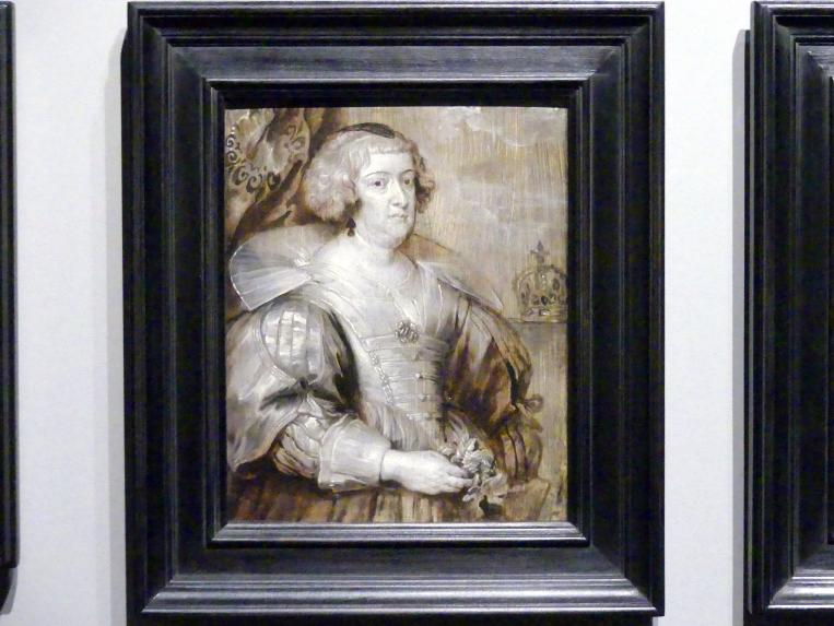 Anthonis (Anton) van Dyck (Werkstatt): Maria de' Medici, um 1629 - 1634