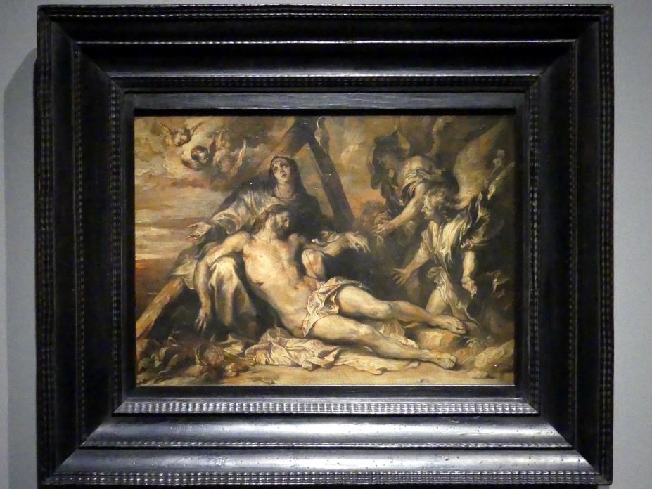 Anthonis (Anton) van Dyck (Werkstatt): Die Beweinung Christi, um 1630 - 1638