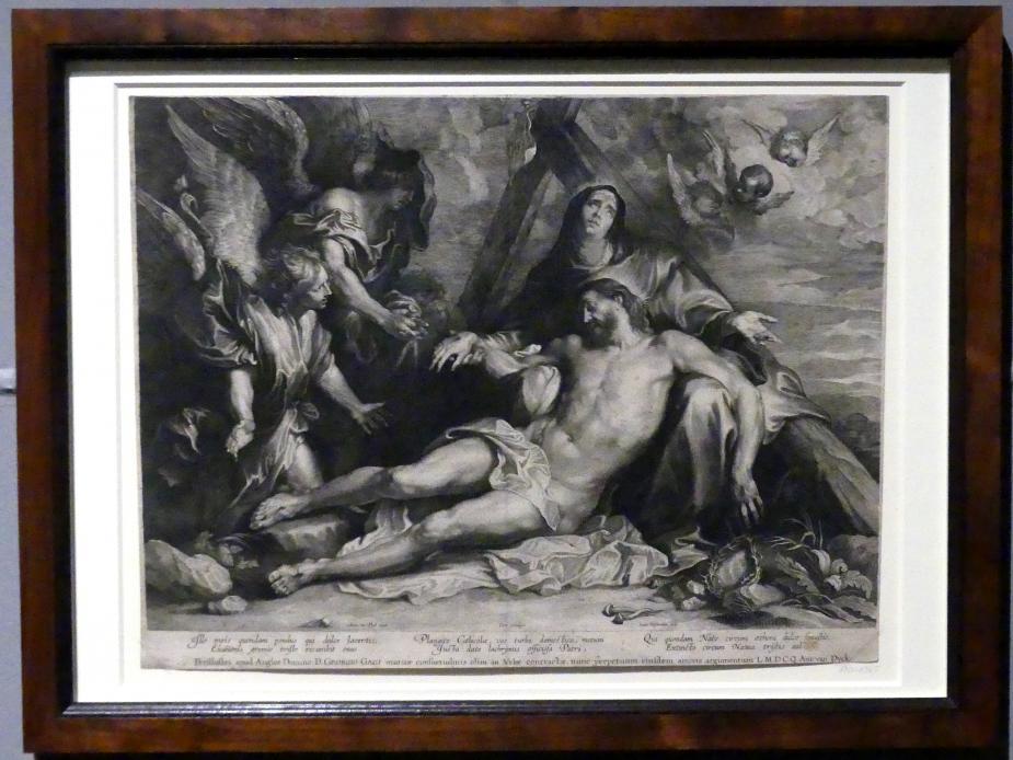 Lucas Vorsterman: Die Beweinung Christi, um 1630 - 1638