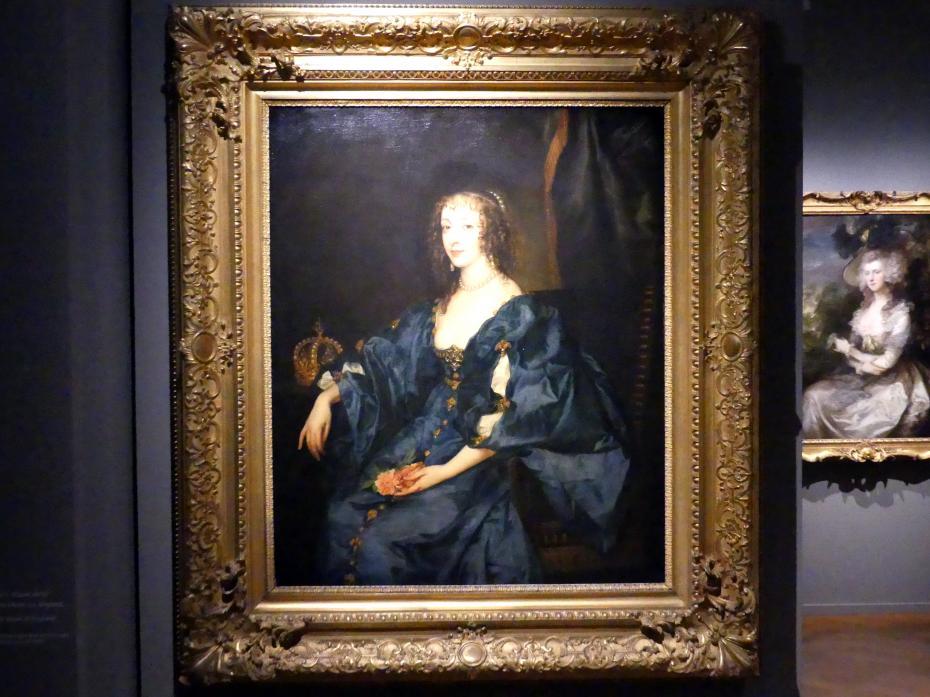 Anthonis van Dyck (Kopie): Königin Henrietta Maria von England, um 1636 - 1637