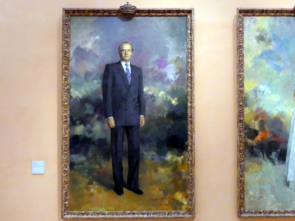 Ricardo Macarrón: Porträt des Königs Juan Carlos I. von Spanien, 1992