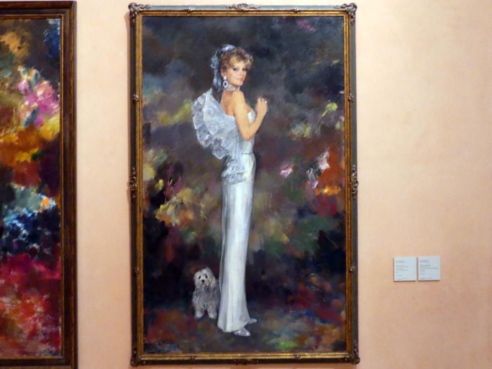 Ricardo Macarrón: Porträt von Baronin Thyssen-Bornemisza, 1988 - 1989