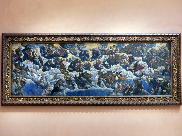 Tintoretto (Jacopo Robusti): Das Paradies, Um 1588