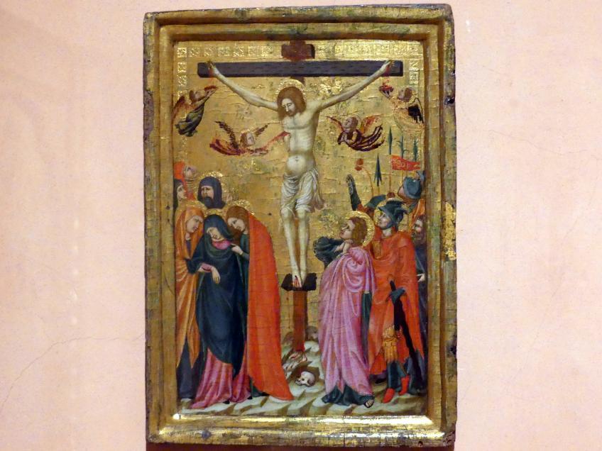 Meister des Kapitelsaals von Pomposa: Kreuzigung, um 1320