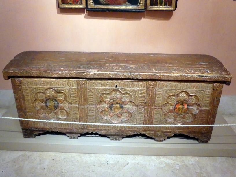 Truhe, um 1411 - 1412