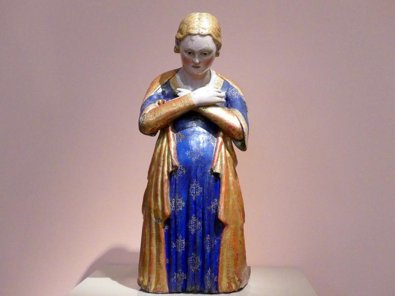 Maria aus einer Verkündigung, um 1360 - 1380
