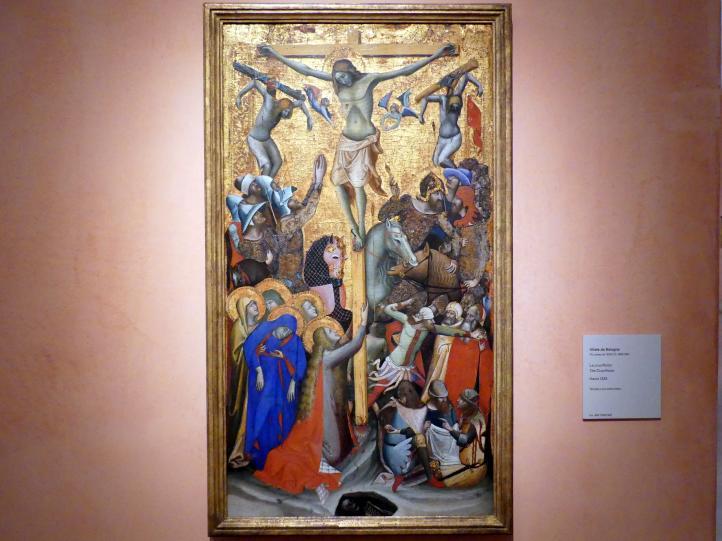 Vitale da Bologna: Kreuzigung, um 1335