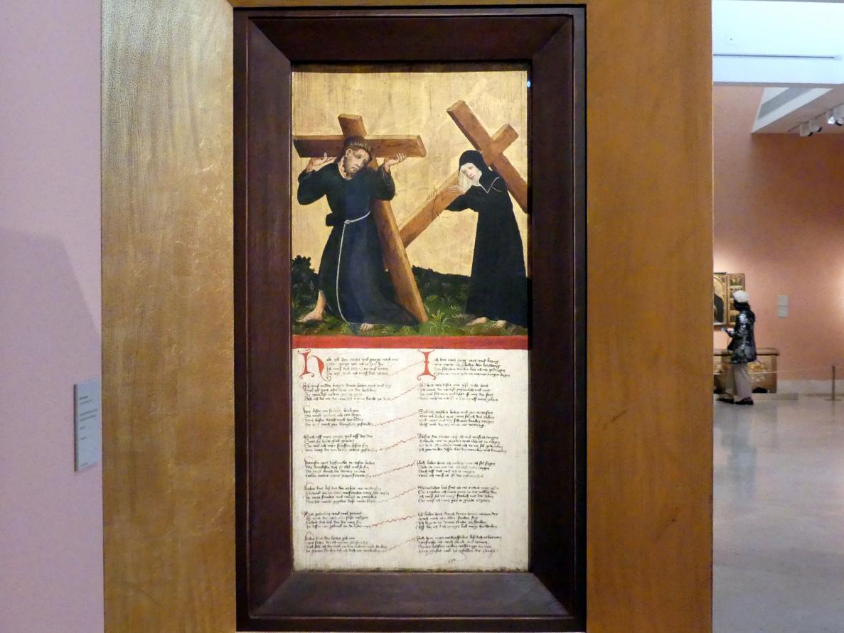 Kreuztragung Christi, um 1420