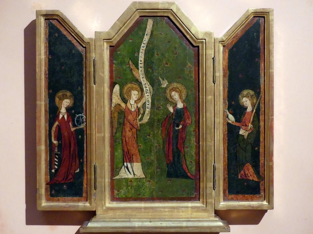 Tryptychon der Verkündigung, um 1350