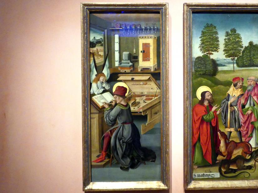 Gabriel Mälesskircher: Evangelist Matthäus, 1478