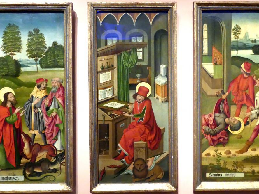 Gabriel Mälesskircher: Evangelist Markus, 1478
