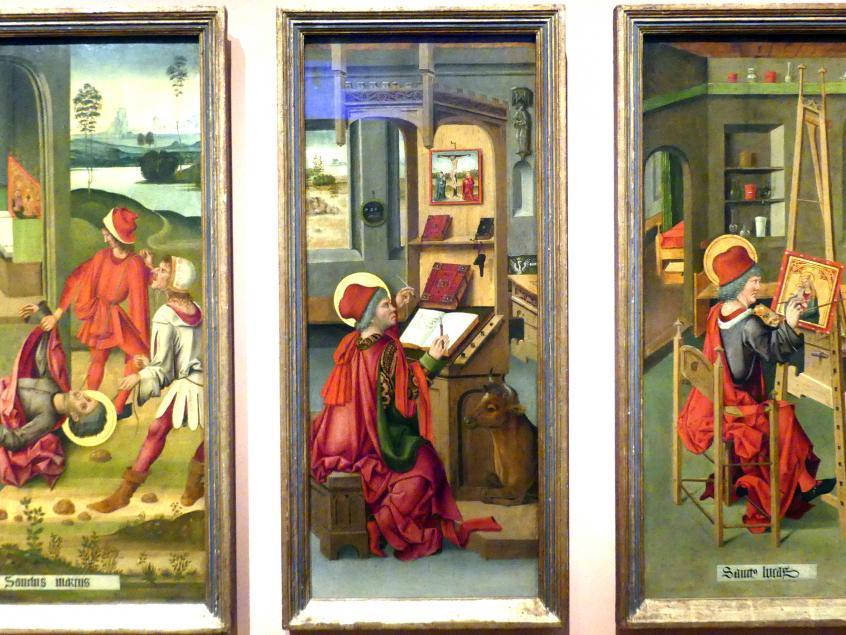 Gabriel Mälesskircher: Evangelist Lukas, 1478
