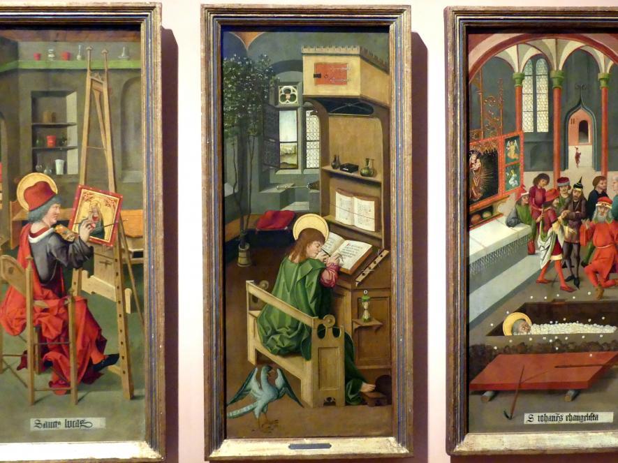 Gabriel Mälesskircher: Evangelist Johannes, 1478