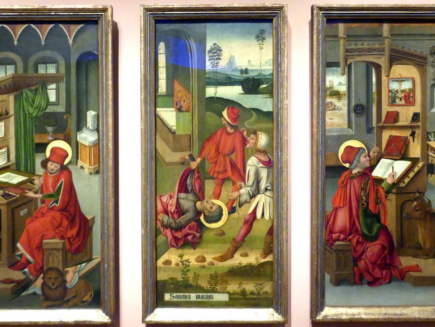 Gabriel Mälesskircher: Das Martyrium des Hl. Markus, 1478