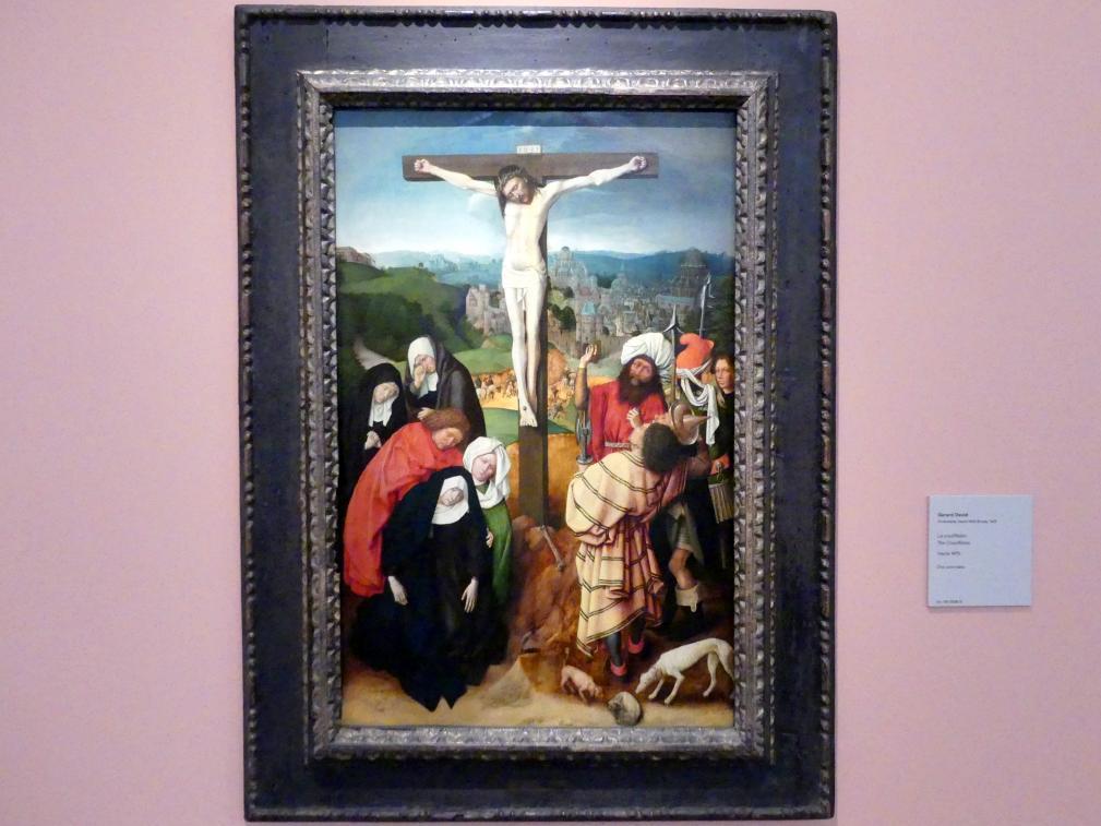 Gerard David: Kreuzigung, um 1475