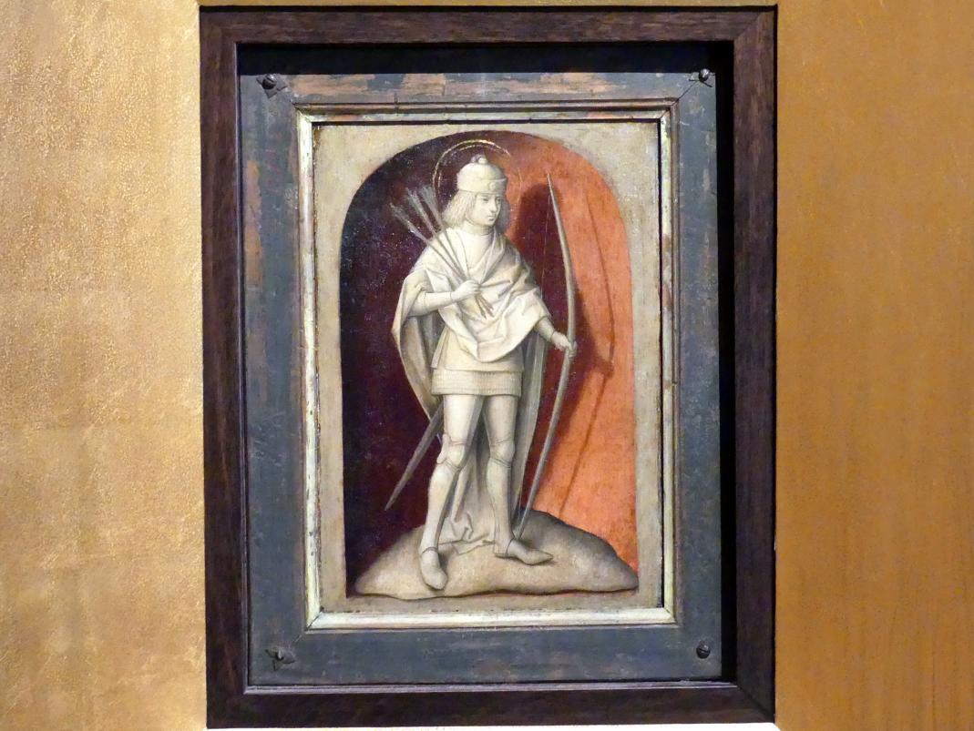 Meister der Magdalenen-Legende: Heiliger Sebastian, um 1480