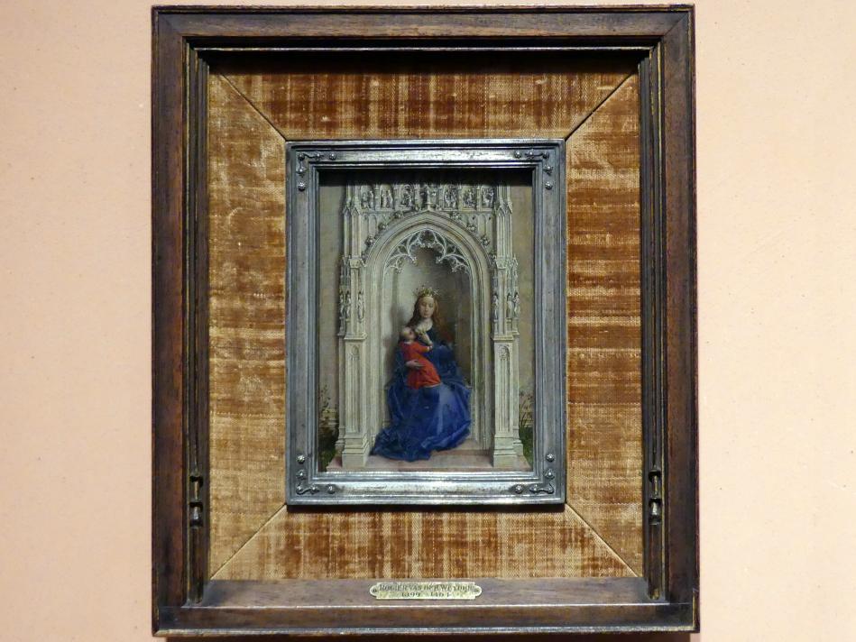 Rogier van der Weyden: Thronende Madonna mit Kind, um 1433