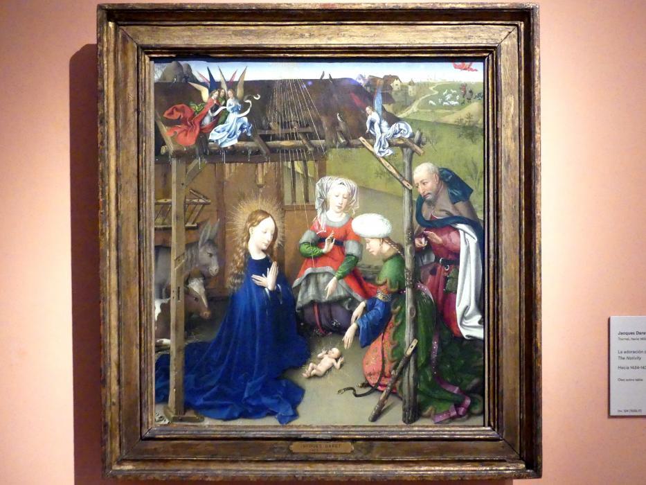 Jacques Daret: Christi Geburt, um 1434 - 1435
