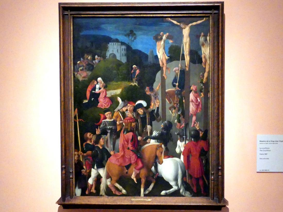 Meister der Virgo inter Virgines: Kreuzigung, um 1487
