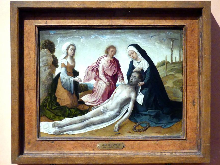 Juan de Flandes: Beweinung Christi, um 1500