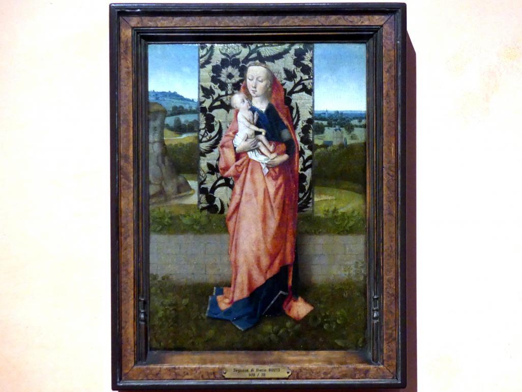 Dieric Bouts d.Ä. (Nachfolger): Maria mit Kind, um 1465