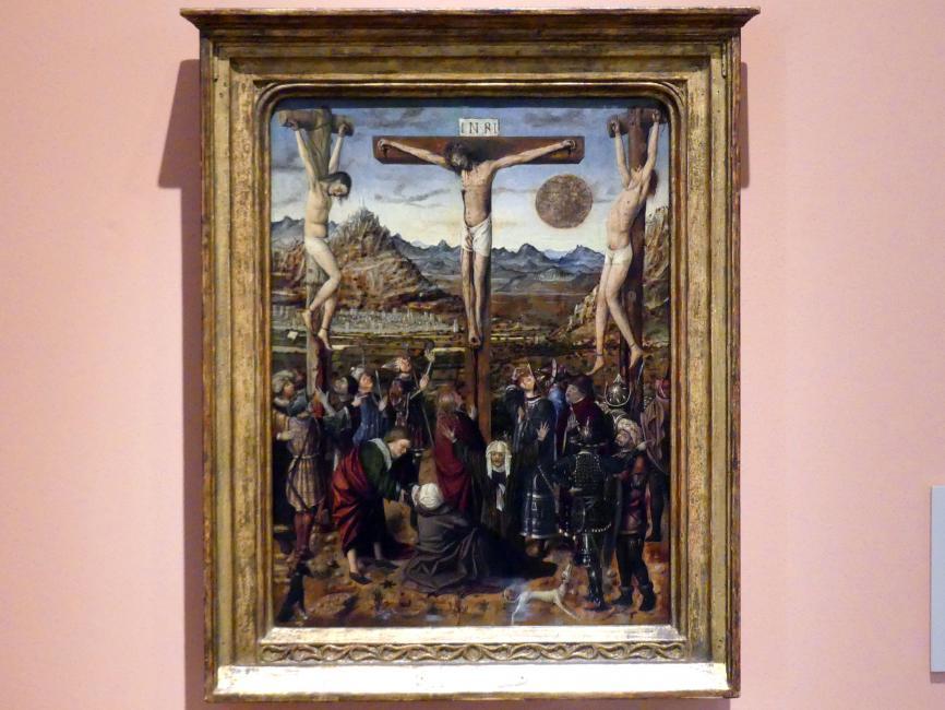 Kreuzigung, um 1450 - 1460