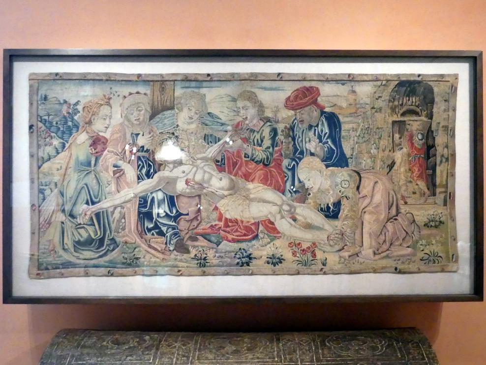 Rubinetto di Francia (Rubino di Francia) (Werkstatt): Beweinung Christi, um 1474 - 1475